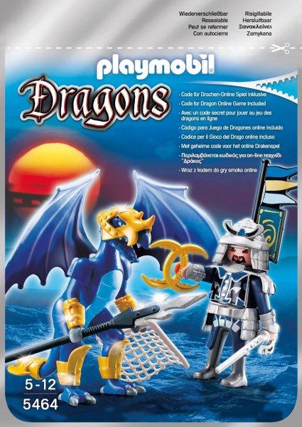 Playmobil™ - Dragons: Ice Dragon mit Kämpfer (5464) für €4.- [@Real.de]