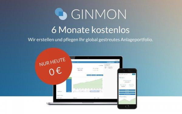 (Nur heute) 6 Monate kostenloses ETF-Portfolio von Ginmon