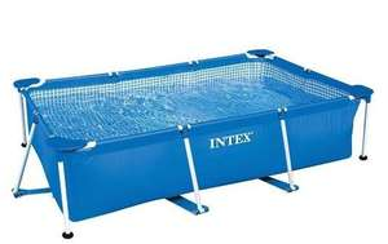 [Amazon] Intex Aufstellpool Frame Pool Family, Blau, 220 x 150 x 60 cm für 59,06€ statt ca. 66€