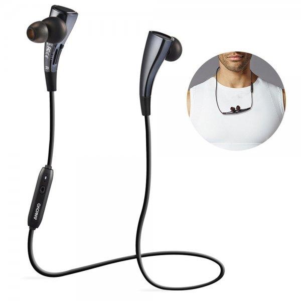 AMAZON Bluetooth Kopfhörer ANKOVO, Schweißschutz, Geräuschunterdrückung, Magnet-Kreis-Entwurf (marineblau)
