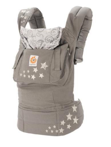 [Amazon Blitzangebot] Ergobaby Babytrage Kollektion Original (5,5 - 20 kg), Galaxy Grau für 67,99€ statt 85€