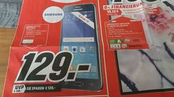 Samsung Galaxy J5 für 129€ (Neueröffnung MM Weiden)