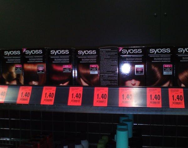 [lokal?] Kaufland Berlin Storkower - Syoss Coloration verschiedene Farben je 1,40€