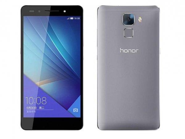 [Amazon] Honor 7 LTE + Dual-SIM (5,2'' FHD IPS, HiSilicon Kirin 935 Octacore, 3GB RAM, 16GB intern, 20MP + 8MP Kamera, Vollmetallgehäuse, 3100 mAh, Android 5.0 -> Android 6) für 279€