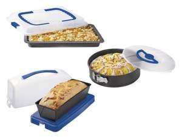 Bei [Lidl] gibt es Kuchenbehälter für den Transport von Gebäck für 5,99€