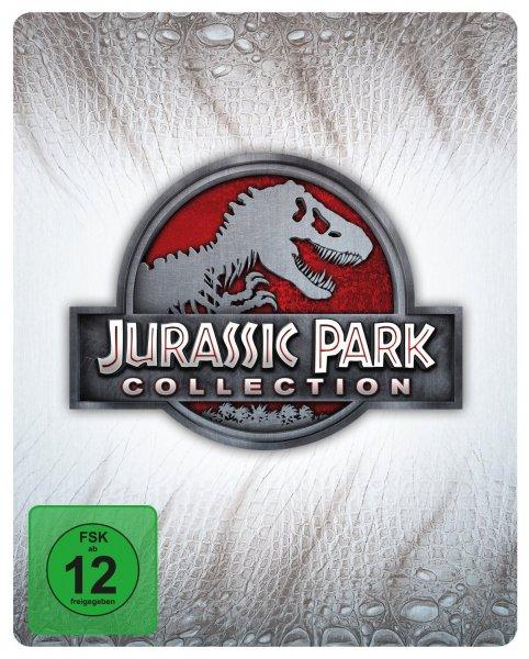 Wieder Da AMAZON Jurassic Park Collection - Steelbook [Blu-ray] [Limited Edition]