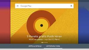 Google Play Music 90 Tage kostenlos für Android Tablets