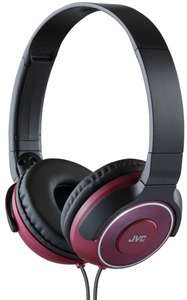 JVC HA-S220-R-E On-Ear Leichtkopfhörer rot ab 13,38 Euro @Amazon