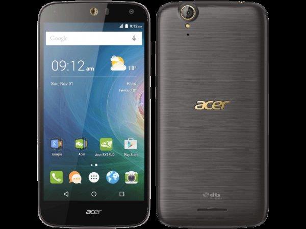 ACER Liquid Z630S, Smartphone, 32 GB, 5.5 Zoll, Schwarz/Gold, 3G Unterstützung, LTE, 3 GB RAM für 184 € @ Saturn Latenight Shopping mit NL-Gutschein
