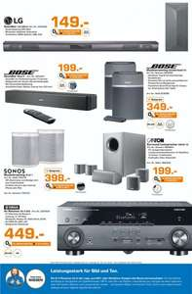 [Saturn HH + Norderstedt] Yamaha Aventage RX-A 550 5.1 AV Receiver