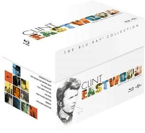 Clint Eastwood - The Blu-ray Collection (8 Filme) für 28,54 € @Amazon.co.uk