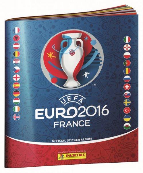 Panini Album UEFA EURO 2016 Stickeralbum gratis