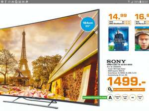 SONY KD-65S8505 CBAEP LED TV (Curved, 65 Zoll, UHD 4K, 3D, SMART TV, Android TV)