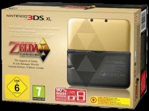 [saturn.de] Nintendo 3DS XL: The Legend of Zelda: A Link Between Worlds Limited Edition ab 219€ [nur für Sammler interessant] *Update* jetzt ab 209€