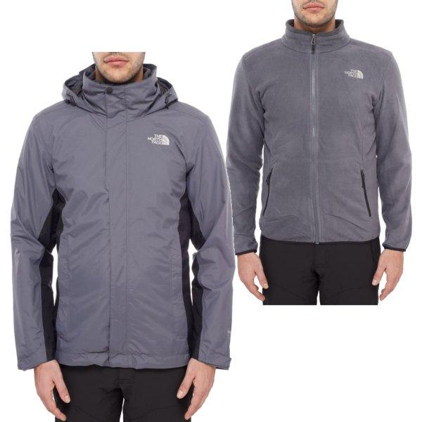 Funktionsjacke Men's Evolution II Triclimate Jacket (grau / blau)