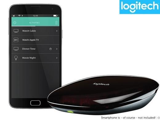 Logitech Ultimate Harmony Hub schwarz für 39,99€ frei Haus @Amazon