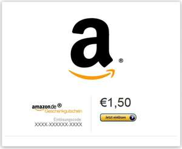 (Ebay) Amazon Gutschein 1,50€ für 1€! schnell sein