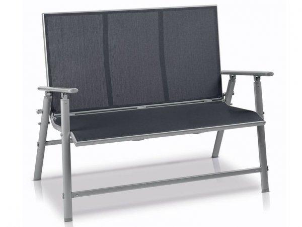 [Lidl Online Shop] klappbare Aluminium Gartenbank für 75,94 € mit NL-Gutschein ins Haus und 3% Qipu (1,82 €) möglich / nächster Preis 125,99 €