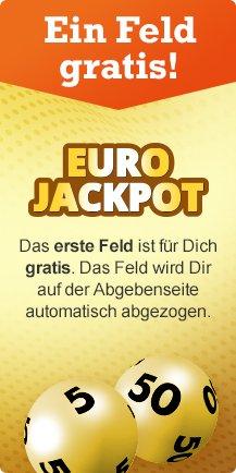 [Lottohelden] ein Feld Eurojackpot oder zwei Felder 6 aus 49 gratis (Bestandskunden)