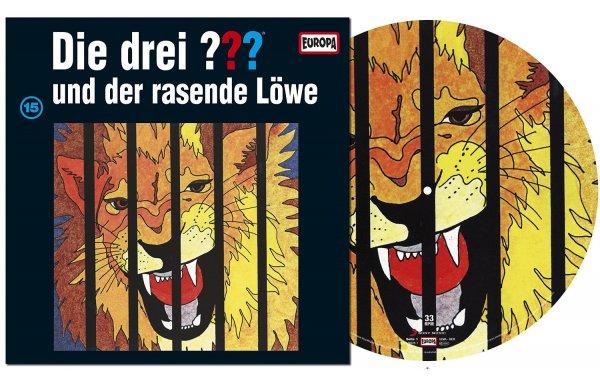 [Amazon] [Vinyl] Die drei Fragezeichen und der rasende Löwe (Folge 15) als Picture Vinyl