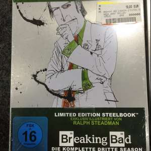 Breaking Bad Staffel 3 oder Staffel 4 Blu-ray Steelbook je 12€ (VGP 18,40€) [Media Markt Velbert]