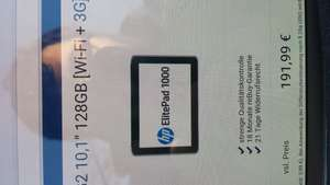 Hp elitepad 1000 g2 128GB Wifi 3G refurbished