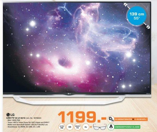 [Lokal Saturn Bielefeld] LG 55 UF8579 für 1199€