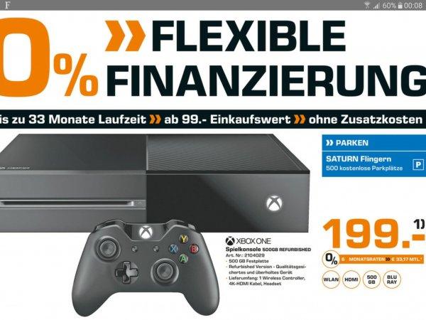 (Saturn Düsseldorf) Xbox One 500GB Refurbished 199€