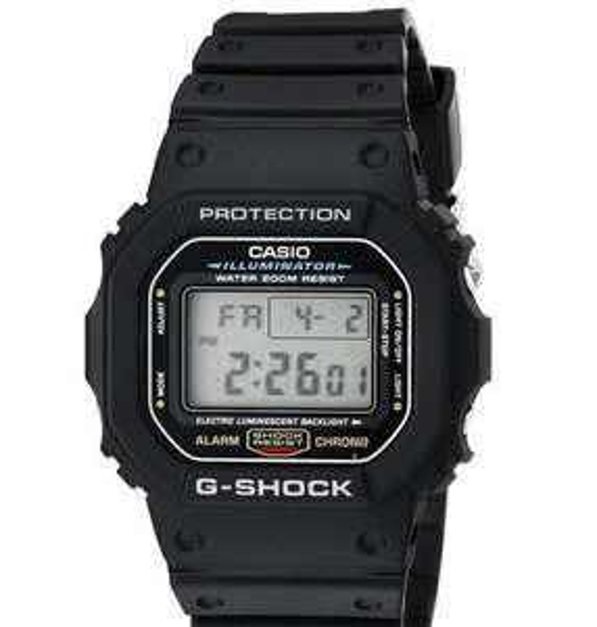 Casio G-Shock DW5600E Armbanduhr Digital für 52€ bei amazon.com
