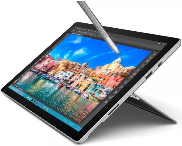 MICROSOFT Surface Pro 4, Convertible mit 12.3 Zoll, 128 GB, 4 GB RAM, M3-Version