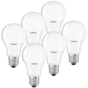 (eBay WOW) OSRAM-6er-Pack-9-W-LED-Lampen-E27-warmweiss