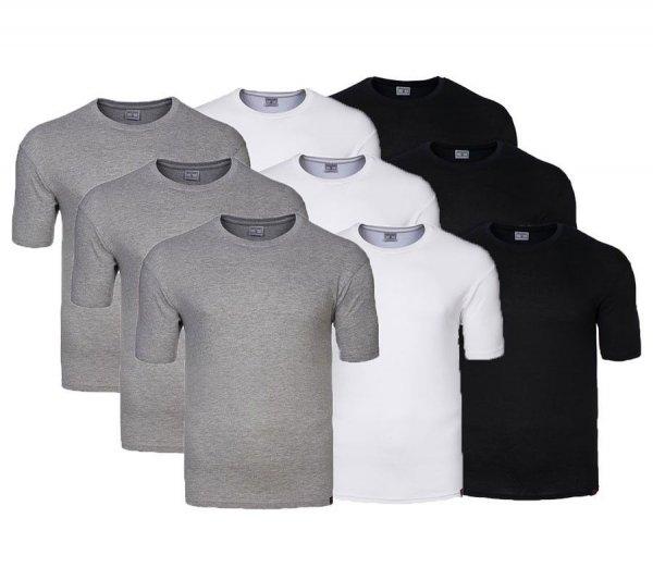 (Ebay WOW ) 3er-Pack Pierre Cardin T-Shirt Herren American Shirt 3er-Pack/Stück Kurzarm Rundhals  UVP EUR 64,95
