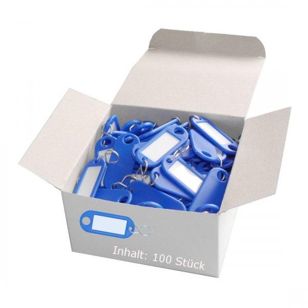 [Amazon Marketplace] 100 WEDO Schlüsselanhänger in blau für 2,10 € / nächster Idealo 8,43 €