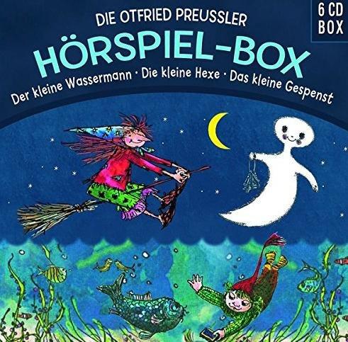 [Amazon] Die Otfried Preußler (Das kleine Gespenst / Der kleine Wassermann / Die kleine Hexe) - Hörspielbox für 8,97€ statt 16,99€