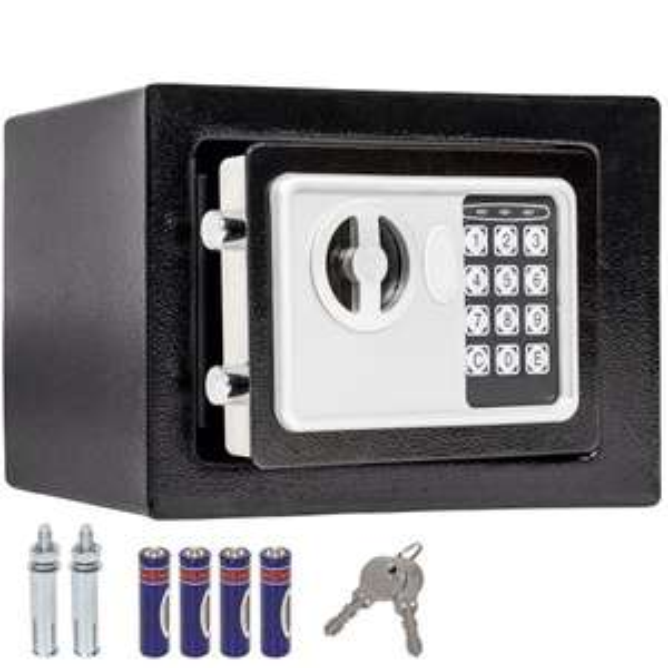 [ebay] kleiner Möbeltresor mit Codeschloss und Schlüssel für 20,49 (z. B. zur Aufbewahrung von Li-Po Akkus)