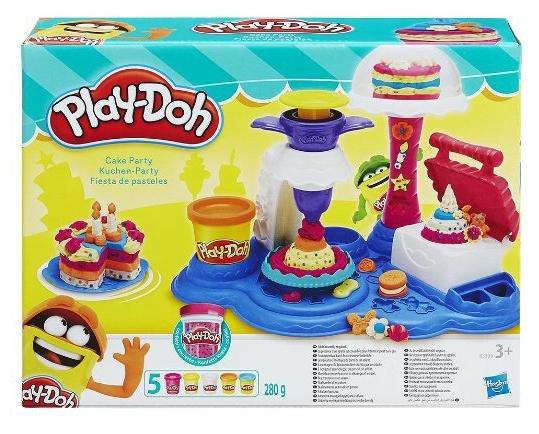 [Amazon] Hasbro Play-Doh - Kuchen Party, Knete für 11,99€ statt ca. 18€