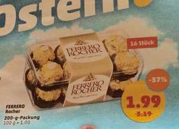 (Penny)Ferrero Rocher für 1,99€