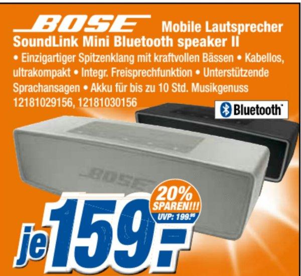 Bose Mini Box für 129€ statt 199€