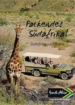 Infomaterial Südafrika: Landkarte, Reiseführer, Tips A-Z, kostenlos & frei Haus