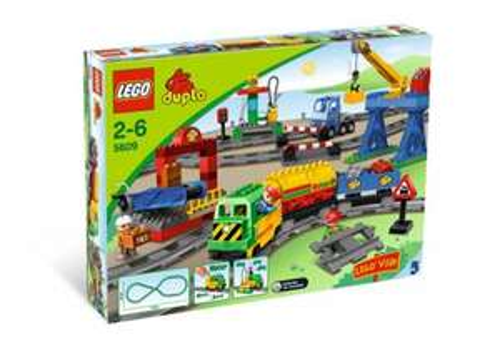 LEGO Duplo 5609 - Eisenbahn Super Set für EUR 70,00 @real Aschaffenburg