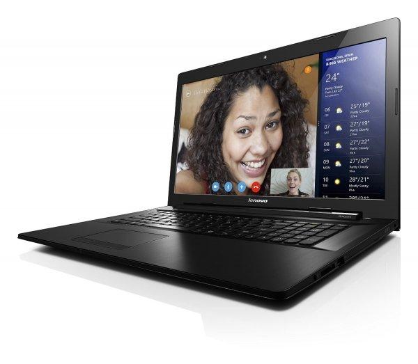 Lenovo G70-80 (17,3 Zoll HD+, Intel Core i3-4005U, 1,7GHz, 4GB RAM, 128GB SSD, Intel HD 4400 Grafik, DVD-Brenner, Bluetooth 4.0 , Wlan ac, HDMI) für 329€ bei Amazon.de