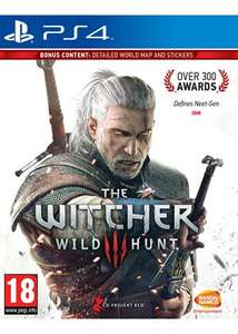 The Witcher 3: Wild Hunt (PS4/Xbox One) für 28,30€ bei Base.com