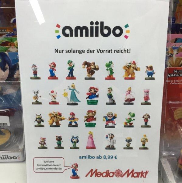 Amiibo 8,99€ Media Markt Saarbrücken Saarterassen