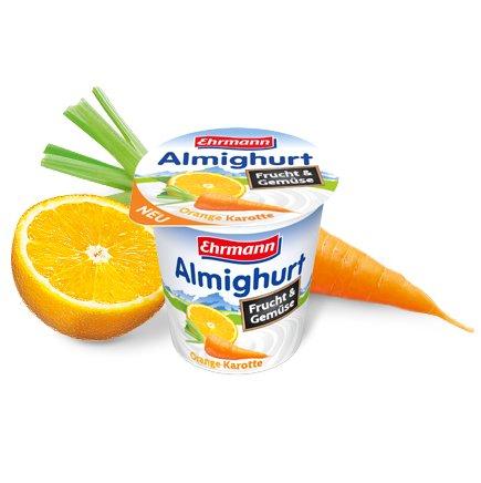 [GLOBUS] Ehrmann Almighurt Frucht & Gemüse 150g für 0,05€ (Angebot+Scondoo) [LIMITIERT:10x/Account]