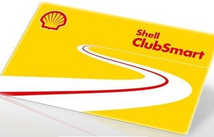 Shell Clubsmartkarte 1100 Punkte kostenlos (neuregistrierung)