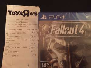 [Lokal Toysrus Chemnitz Center] Fallout 4 PS4 für 29,66€