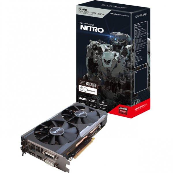 [Alternate] Sapphire AMD Radeon R9 380X OC Dual-X Nitro, 4GB GDDR5 Grafikkarte + Gratis Spiel