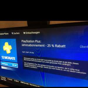 Ps Plus Mitgliedschaft 365 Tage@PS Store