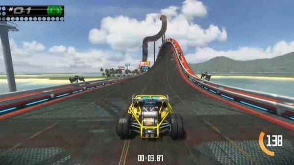 Trackmania Turbo Beta PS4