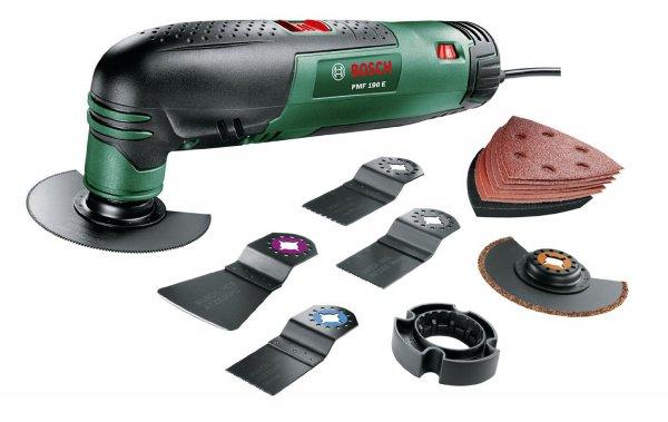 [Amazon Blitzangebot] Bosch Multifunktionswerkzeug PMF 190 E Set für 85,99€